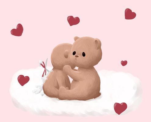 Bild zum Valentinstag