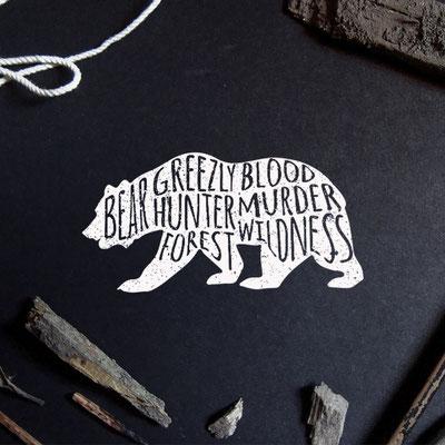 Ivan Bunin design - bear