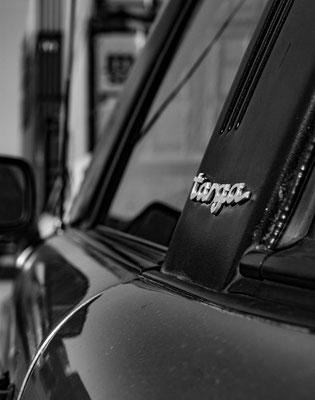 Porsche Targa Schriftzug