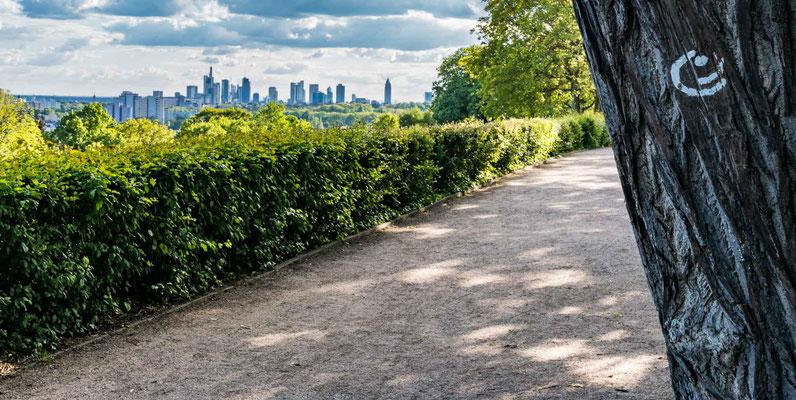 Radweg Rund um Frankfurt Lohrberg
