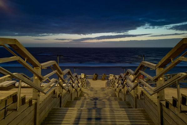 Promenade am Abend mit Honor 8 fotografiert
