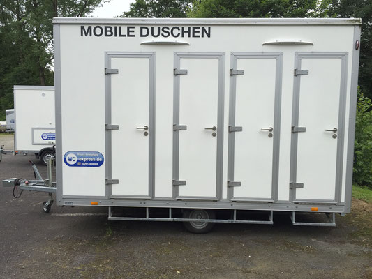 wc express duschwagen 4 1 duschtrailer duschanh nger. Black Bedroom Furniture Sets. Home Design Ideas