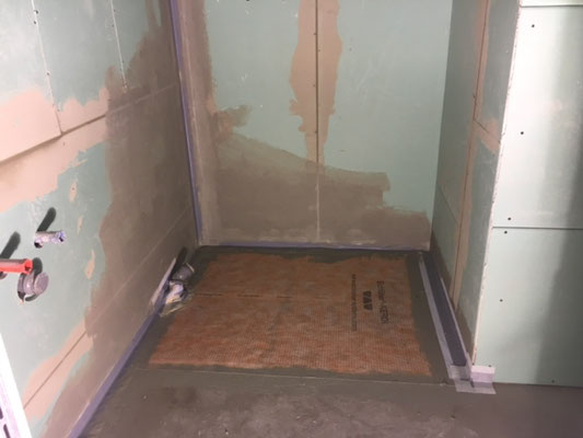 Trockenbau im Badezimmer