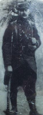 Le Seclinois Florent Xavier, caporal au 21e R.I. mobilisé de 1914