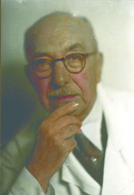 M. François Lesaffre, économe de l'Hôpital