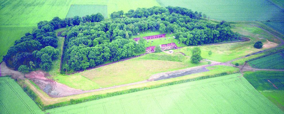 Le Fort de Seclin vue aérienne