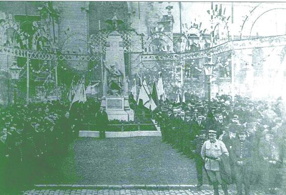 Inauguration du Monument aux morts