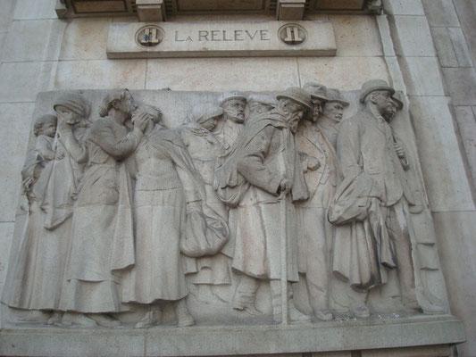 Les Captifs, Place Rihour, Lille