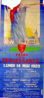 Affiche de la Fête de la Renaissance