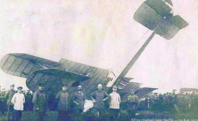 Photographie du 24 août 1915 entre Wattiessart et Phalempin