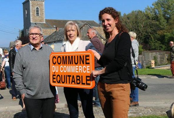 La commune de Tenneville, titrée depuis septembre 2017