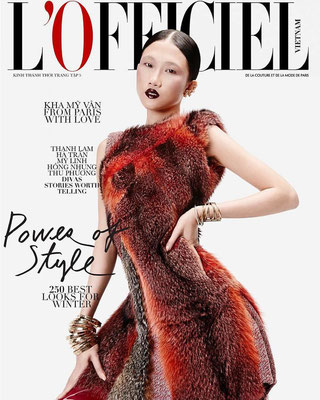 Cover L'Officiel - Vietnam - 2015