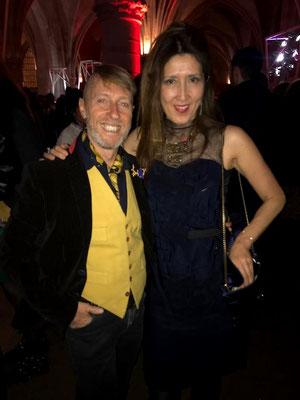 Stefano Poletti with Kaori