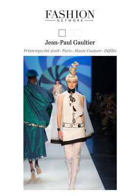 Creation for Jean-Paul Gaultier - Printemps/été 2018 Paris Haute Couture Défilés