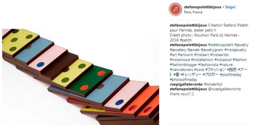 Creation for Hermès, Atelier Petit h - 2016