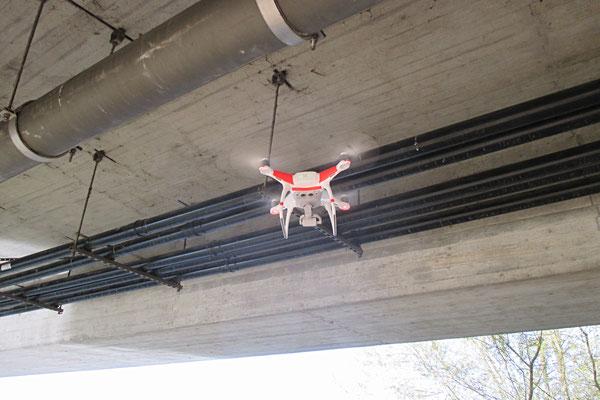 Drohneneinsatz, Industriekletterer, Berufskletterer, ProRope