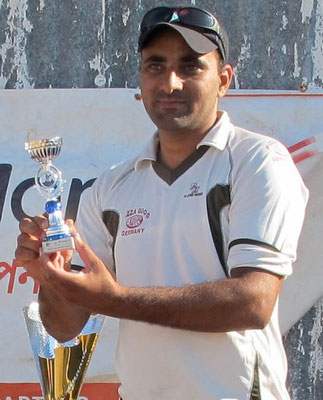 Bowler of the Tournament - Shafaquat of Kazepis