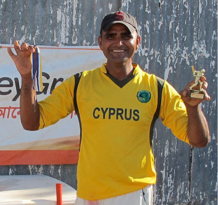 Player of the Tournament - Shaoib of Fellows