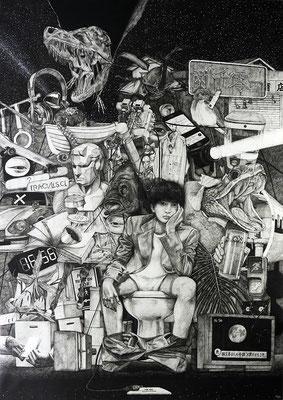 武蔵野美術大学 油画科版画専攻 公募推薦入試ポートフォリオ用作品