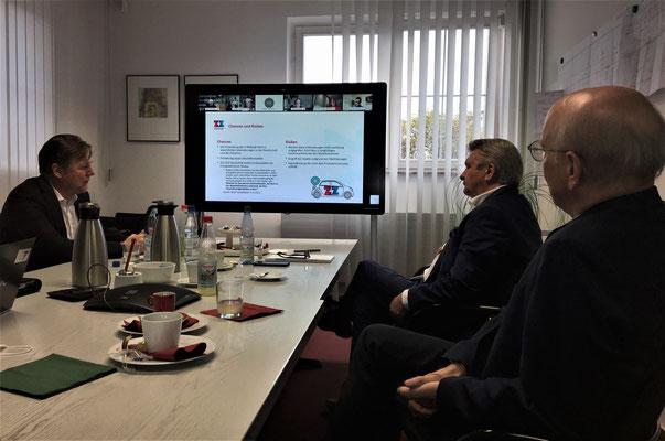 v.l.n.r.: Ulf Körschner, Michael Haase, Klaus Teebken