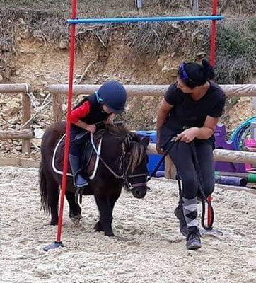 Initiation à poney