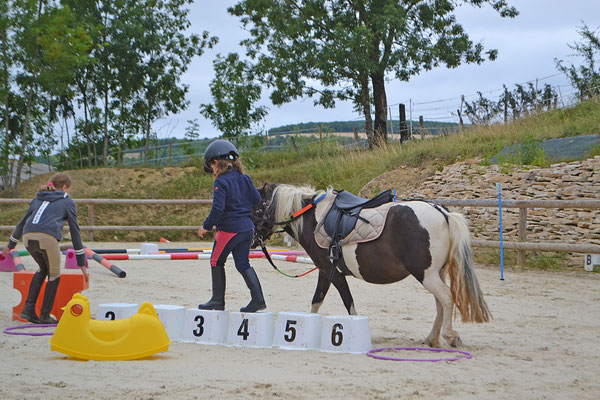 Jeux et équifun à poney