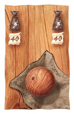 `Rotundo´, Spielkarte, erschienen bei Adlung Spiele