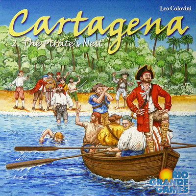 `Cartagena 2 - Das Piratennest´, erschienen bei Rio Grande Games