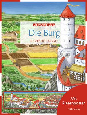Buch `Die Burg in der Ritterzeit´, erschienen bei Jacoby & Stuart, 2010