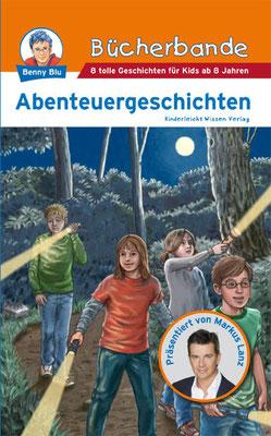 Buch `Bücherbande - Abenteuergeschichten´, erschienen im  Kinderleicht Wissen Verlag, 2009