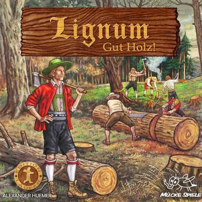 Lignum Verpackung, Mücke Spiele Verlag, 2015