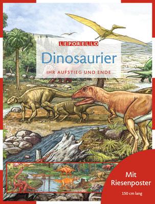 Buch `Dinosaurier: Ihr Aufstieg und Ende´, erschienen bei Jacoby & Stuart, 2010