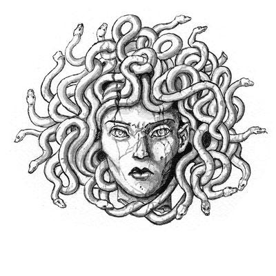 Das Haupt der Gorgone Medusa