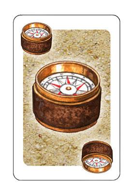 `Cartagena 2´, Spielkarte , erschienen bei Rio Grande Games