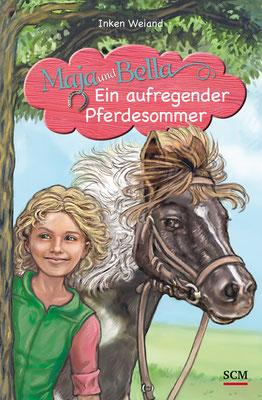 Buch `Ein aufregender Pferdesommer´, von Inken Weiand, erschienen im SCM-Verlag, 2016