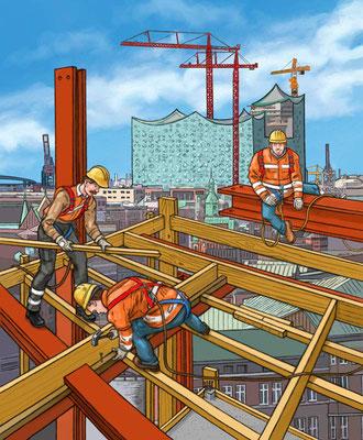 Puzzle Baustelle, erschienen bei HABA