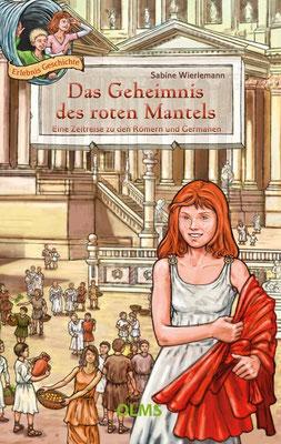 Buch`Das Geheimnis des roten Mantels´ , von Sabine Wierlemann, erschienen im Olms Verlag, 2. Auflage 2016