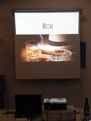 Zindel Rum Tasting