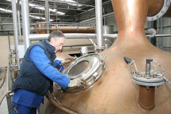 Brennblase Foto von Distilleries Peureux