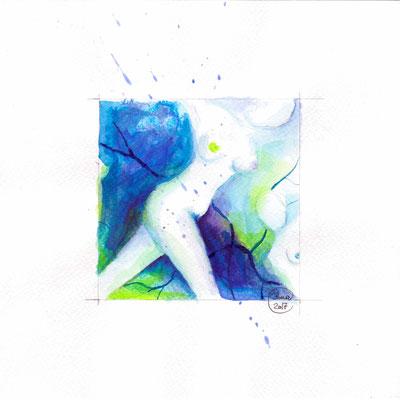 Blauer Akt 07