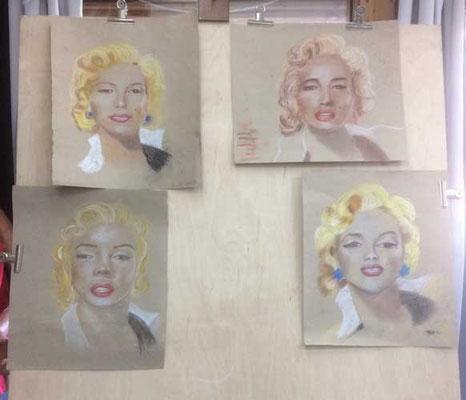 vier mal Marilyn
