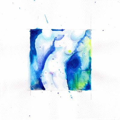 Blauer Akt 09