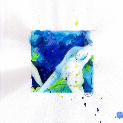 Blauer Akt 06