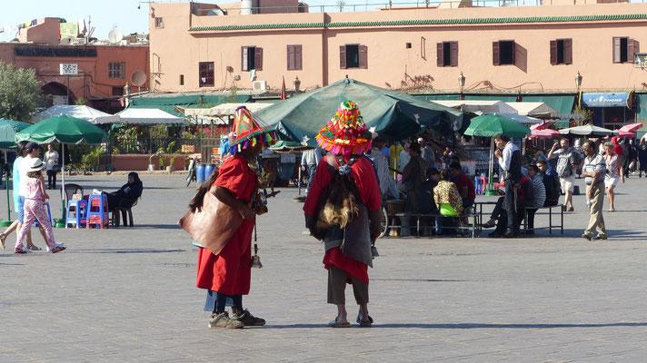 Les traditionnels porteurs d'eau
