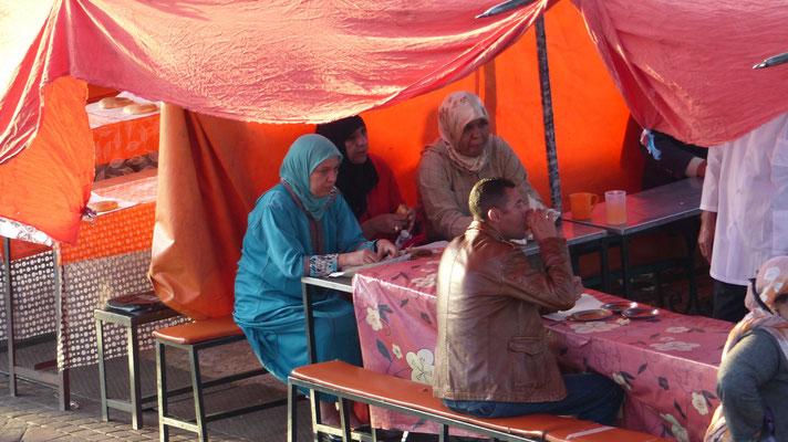 Les touristes marocains s'installent...