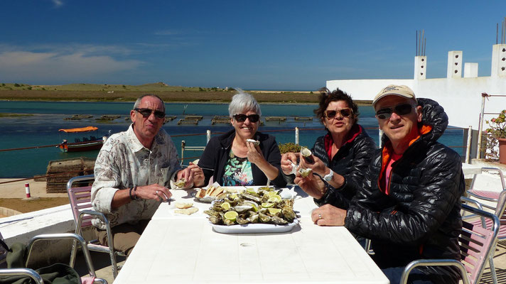 Oualidia : dégustation de nos 50 huîtres délicieuses