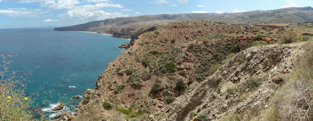 Paysage classique de la côte médirerranéenne