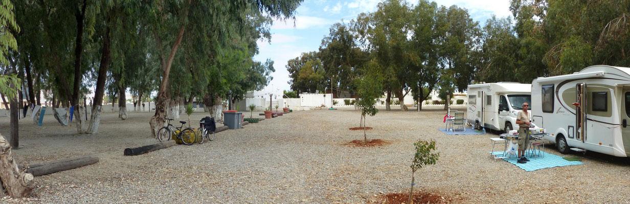 Le camping Alboustane où nous sommes installés
