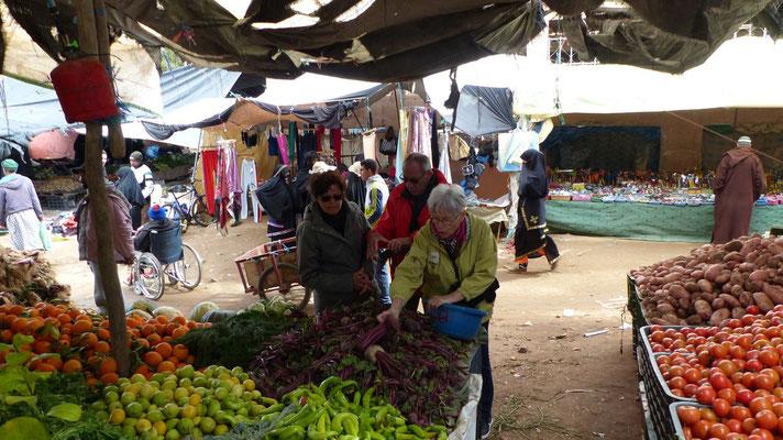 Encore des achats de légumes