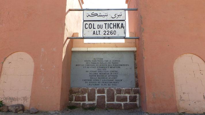 Sommet du col de Tichka